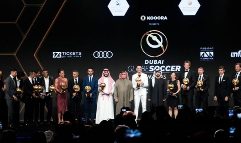In pictures: Dubai Globe Soccer Awards 2019
