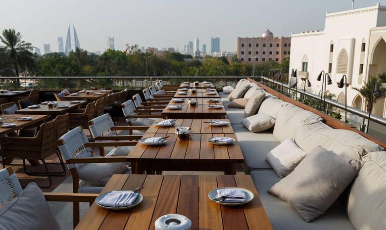 You can now eat outdoors at restaurants in Bahrain