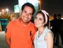 Elias Shehadeh and Dana Ashkar