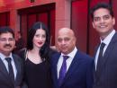 Sanjay, Alma, Carlton and Krishna