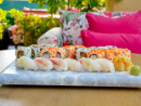 Stuff your face at a sushi nightThe Merchant House's rooftop restaurant Indigo has a sushi night every Thursday and Friday, and we think this weekend's the perfect time to try it. You can get a five-piece nigiri set for BHD7.5, or splash out on the 16 maki and six nigiri option for BHD19.5.BHD7.5 (five-piece nigiri), BHD9.5 (eight maki, four nigiri), BHD14 (ten nigiri), BHD19.5 (16 maki, six nigiri). Every Thu & Fri. Indigo Restaurant, Merchant House, Manama (1667 1000).