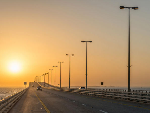 Motorbikes allowed on King Fahad Causeway for first time