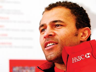 Jason Robinson in Bahrain