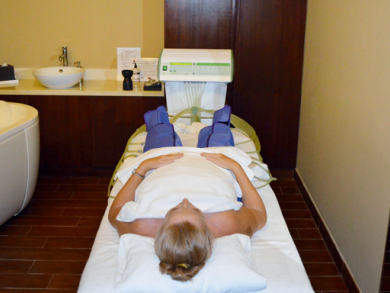Pressotherapy at Sofitel Bahrain