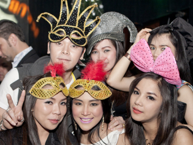 New Years' Eve in Bahrain party pics
