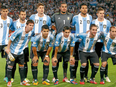 Group F: Argentina