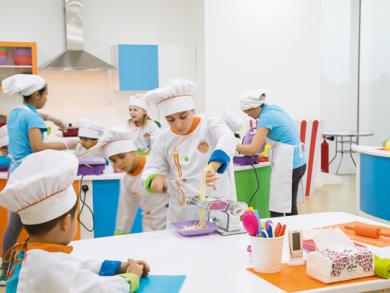 Kids' cooking studio in Bahrain