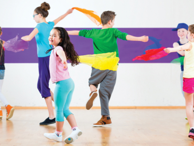 Kids dance classes in Bahrain