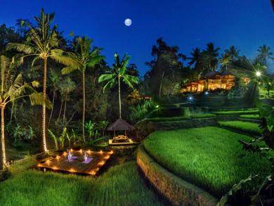 Christmas in Bali, Indonesia