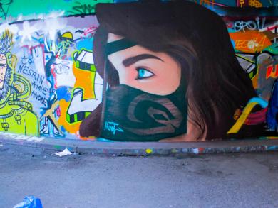 Street art in Bahrain