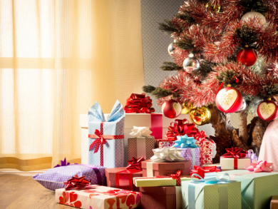 Christmas shopping in Bahrain