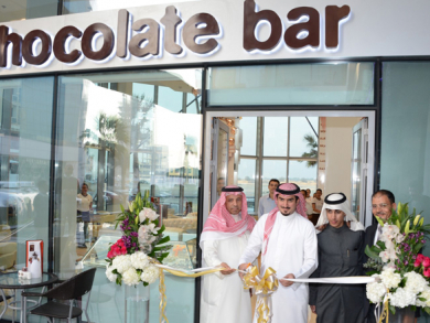 Alison Nelson's Chocolate Bar in Bahrain