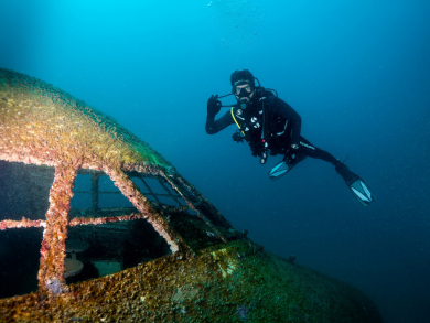 Dive Bahrain: Latest pictures from the world's largest underwater theme park