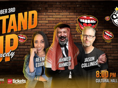Hollywood Pop Up Comedy Club coming to Bahrain