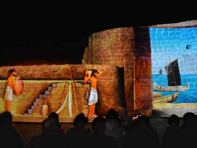 Sound and light show returns to Bahrain Fort