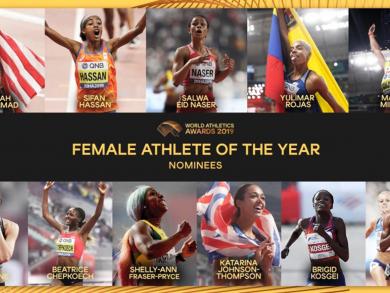 Bahraini athlete nominated for Female World Athlete of the Year