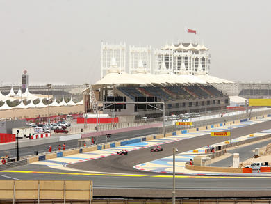 The two Bahrain Grand Prix races will have different tracks