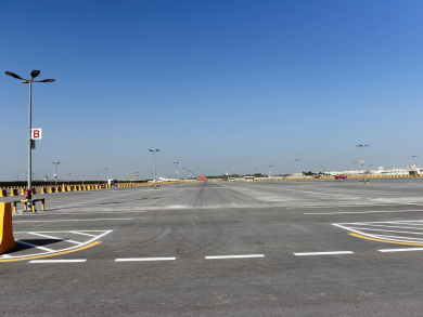 Bahrain International temporarily closes long-term car park