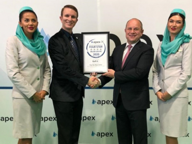 Bahrain's national airline Gulf Air gets four-star official rating