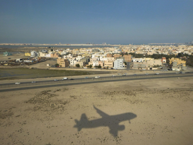 Bahrain International Airport's upgraded road network nearly complete