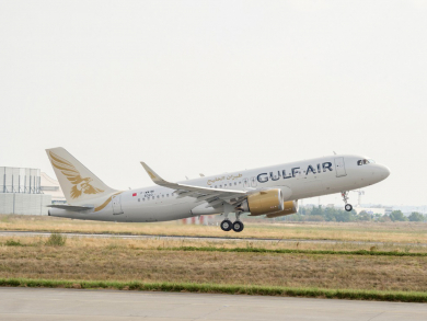 Gulf Air to upgrade planes on routes to India