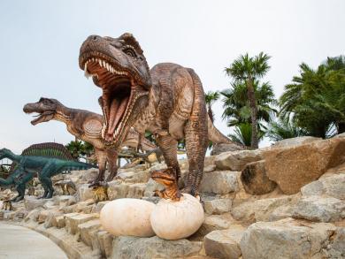 Dinosaur park opens in Bahrain