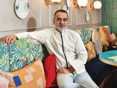 Vineet Bhatia on his love for the Middle East