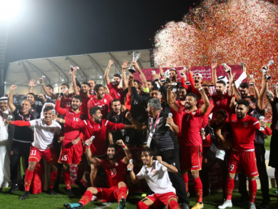 Bahrain wins Arabian Gulf Cup