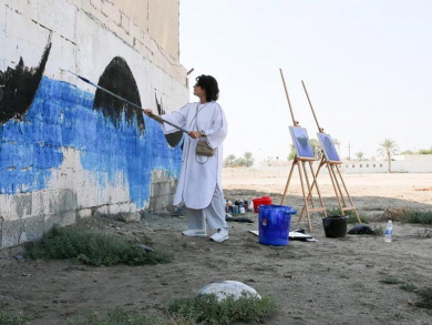 Murals painted across Bahrain to brighten up the Kingdom