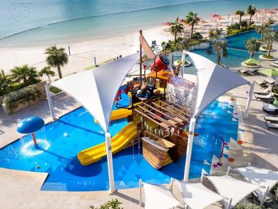 Four Seasons Bahrain Bay water playground opens
