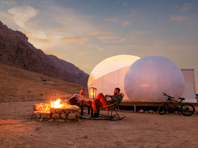 Immerse yourself in the history and nature at the new Jebel Hafit Desert Park