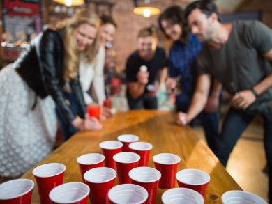 Buffalo Wings & Rings to host hops pong competition