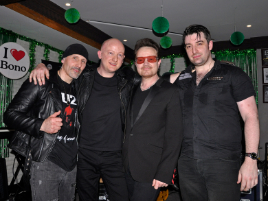 U2 tribute band coming to Bahrain