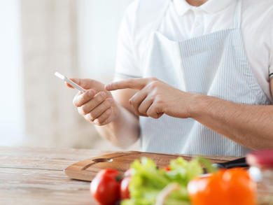 Five brilliant recipe apps to get you cooking at home