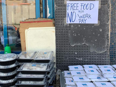 Moshy's in Riffa giving away free food to unemployed