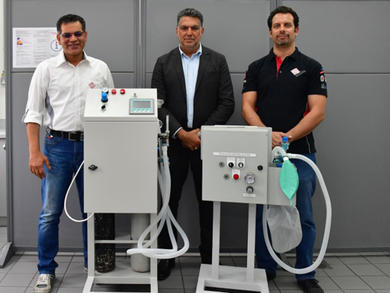 Bahrain International Circuit engineers design new breathing aid to help battle with Coronavirus