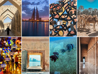 Top Instagram shots taken in Bahrain