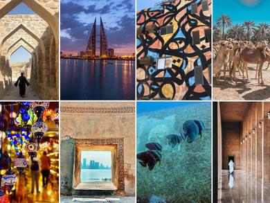Top Instagram shots taken in Bahrain