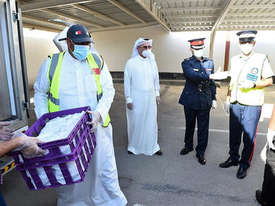 Bahrain's Manama Souq sterilised to combat coronavirus