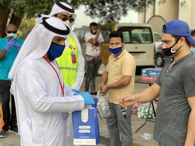 Bahrain to distribute hand sanitisers
