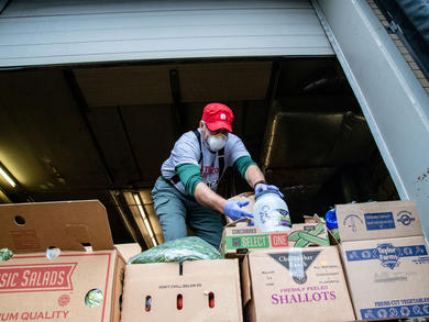 Bahrain Food Bank receives freezer van donation