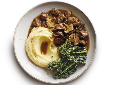 Recipe: Italian-style beef and mushroom casserole