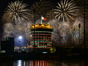 All the pictures from Bahrain International Circuit's firework show
